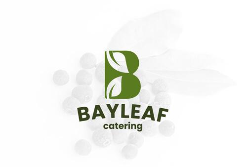 BayLeaf Catering Service Logo design and Brand design